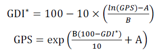 GDI - GPS equations